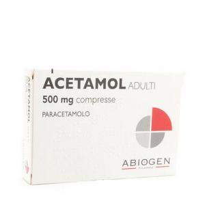 ACETAMOL*ADULTI 20 COMPRESSE 500MG