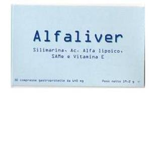 ALFALIVER 30CPR 640MG