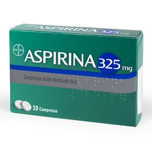 ASPIRINA*03 10 COMPRESSE 325MG
