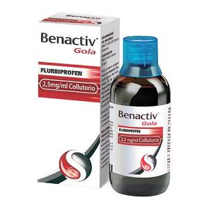 BENACTIV GOLA*COLLUTTORIO 160ML 2,5