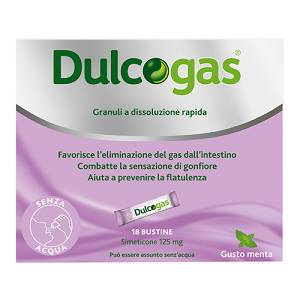 DULCOGAS 18 BUSTE