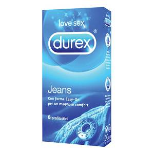DUREX JEANS EASY-ON 6 PEZZI