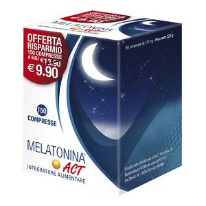 MELATONINA ACT 1MG 150COMPRESSE