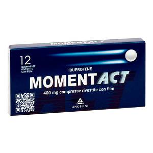 MOMENTACT 12COMPRESSE RIVESTITE 400MG