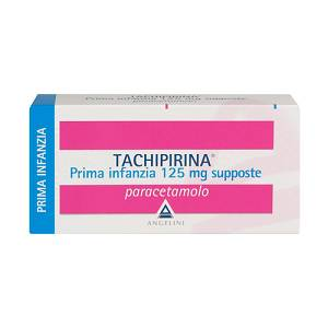 TACHIPIRINA PRIMA INFANZIA 10 SUPPOSTE 125 MG
