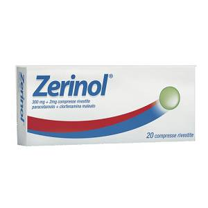 ZERINOL  300MG+2MG 20 COMPRESSE. RIVESTITE.